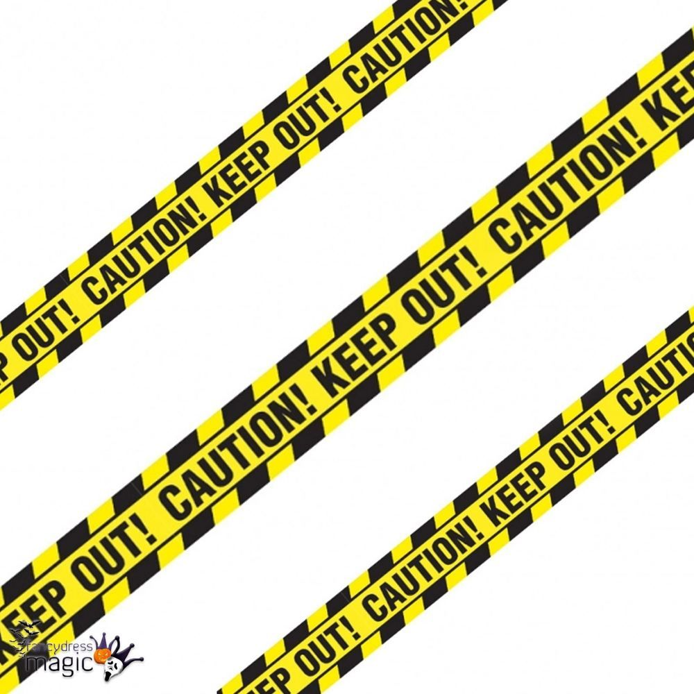 *6.1m Halloween Party Caution Keep Out Warning Tape