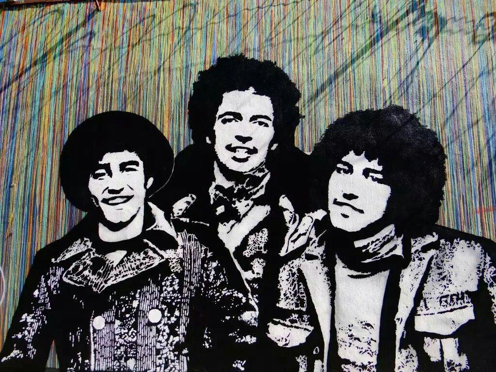 Iranian rockers Yellow.  par Icy & Sot Bushwick New-York