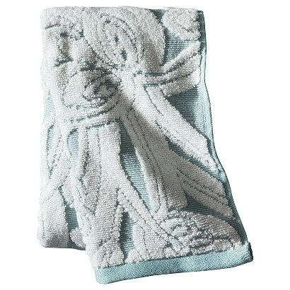Threshold Textured Floral Bath Towels Condo Bathroom Ideas - Floral bath towels for small bathroom ideas