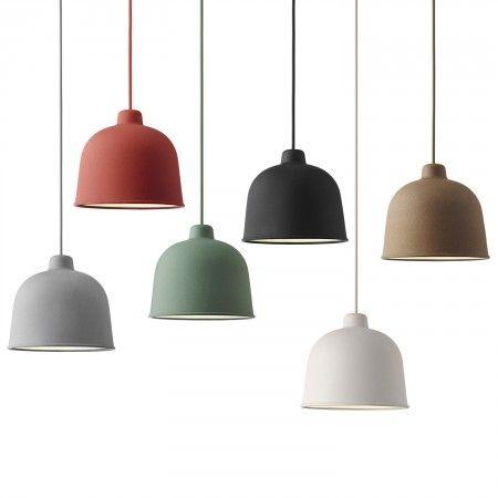 Grain hanglamp Muuto rood | Musthaves verzendt gratis