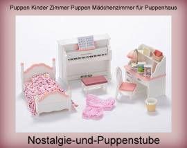 Puppen Haus Möbel Puppen Kinder Zimmer Puppen Mädchen Zimmer Puppenhaus  Sylvanian Families   Bild Vergrößern