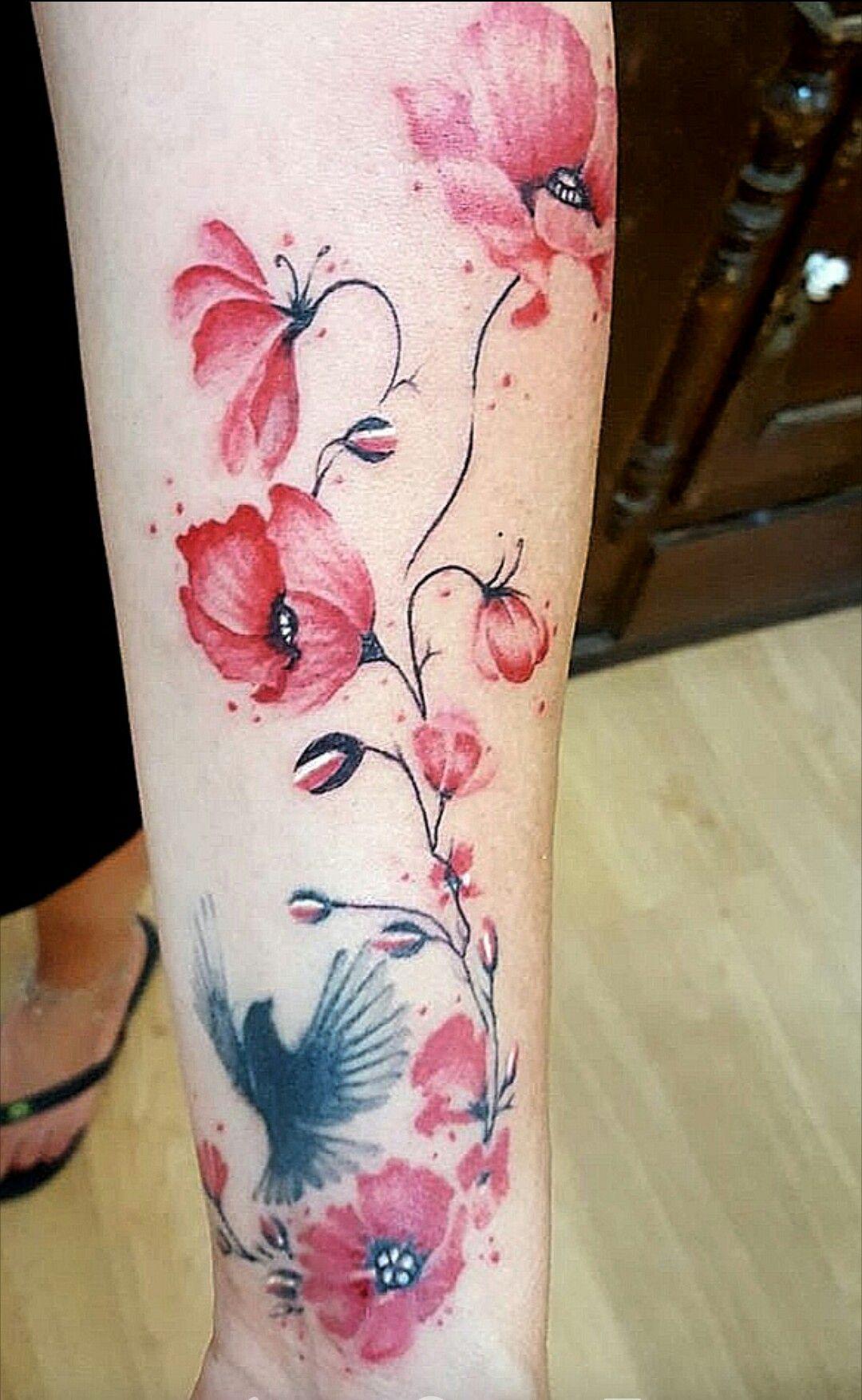 Tatto poppy flower arm pinterest tatto tattoo and tatoo