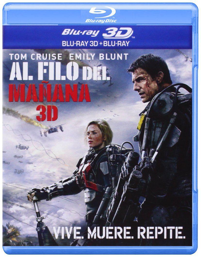 Al Filo Del Manana Bd 3d Bd 2d Carteleras De Cine Peliculas De Accion Peliculas En Espanol