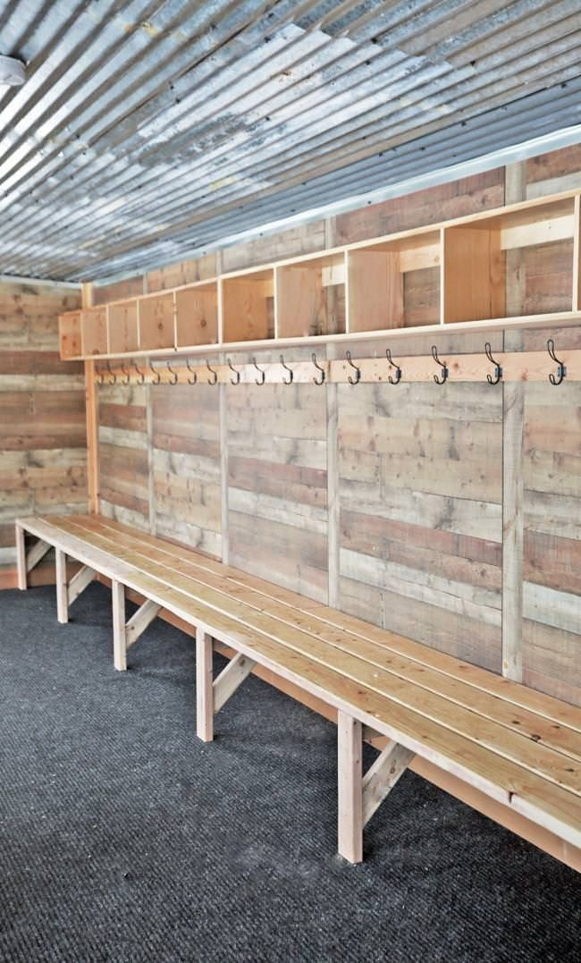 12 Diy Mudroom Bench Storage Plans Free List Mymydiy Inspiring Diy Projects Diy Mudroom Bench Mudroom Bench Plans Diy Mudroom Bench Plans