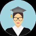 Graduate Graduate Cap Student Icon Education Icon Student School Icon