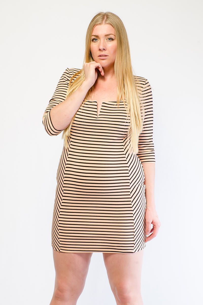 Chic striped short dress my style pinterest striped short