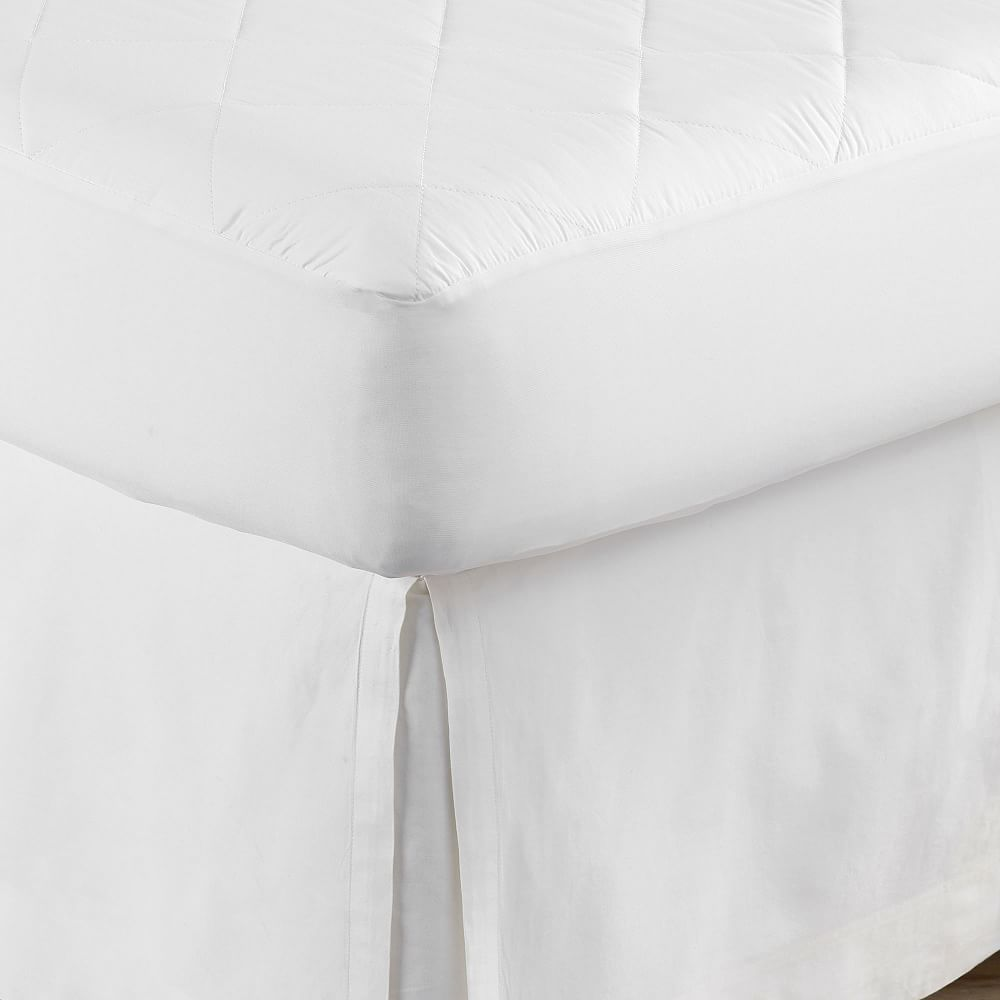 Design Crew Basics Mattress Pad In 2021 Mattress Pad Green Duvet Mattress All cotton mattress pad no polyester