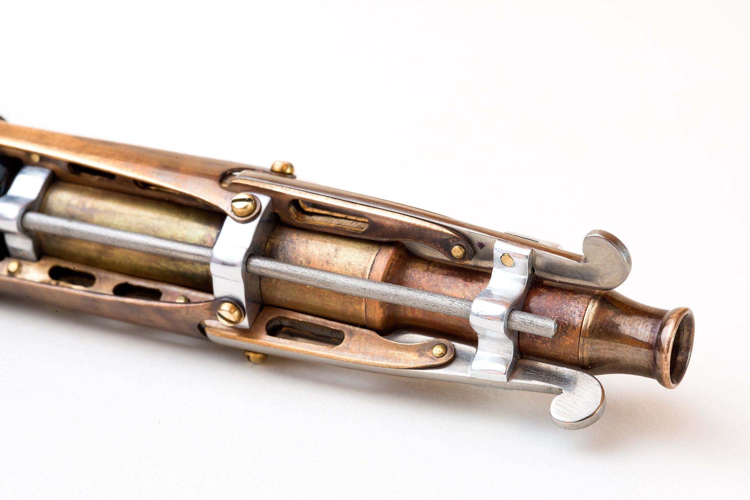 Hand Crafted Steampunk Fountain Pen By Brian Gisi Gisi