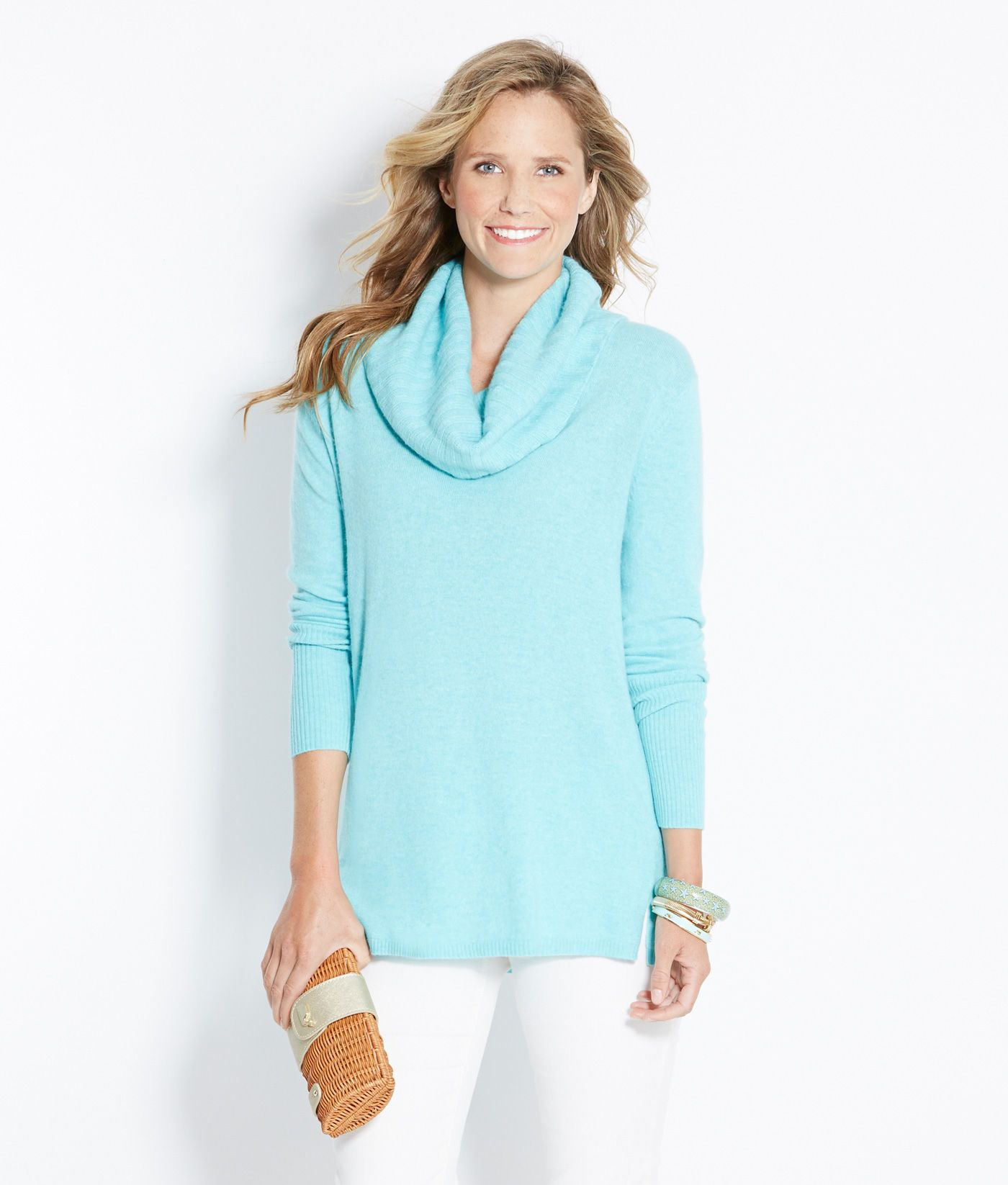 Shop sweaters sherwood cowlneck sweater for women vineyard vines