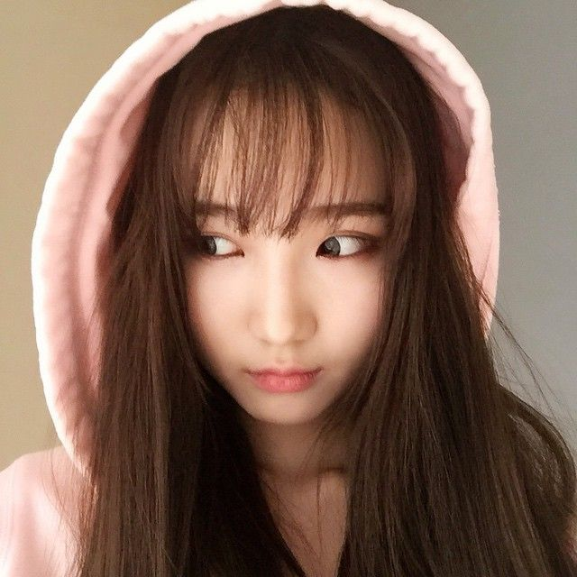 See Through Bangs, barely there wispy bangs, super popular in South Korea as of late (link to B ...