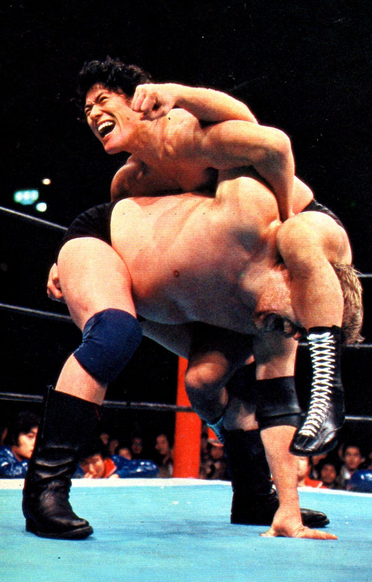 Antonio Inoki vs Stan Hansen | Pro wrestling, Japanese wrestling ...
