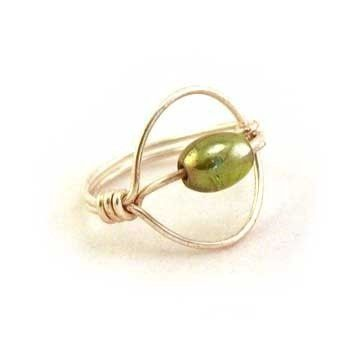 Lasso Wire Wrap Ring | Craft Ideas | Pinterest | Wire wrapping ...