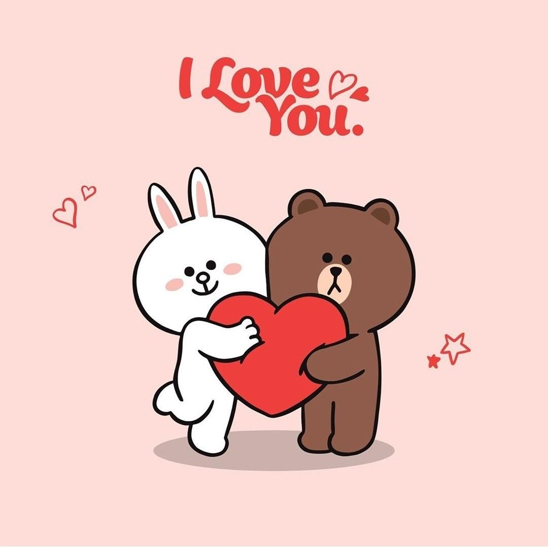 Pin By Evy Patty On Tierno In 2020 Cute Bear Drawings Line Friends What Is Love