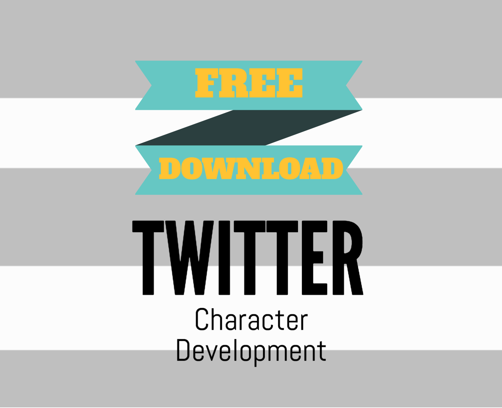 Free Download Twitter Character Development Worksheet