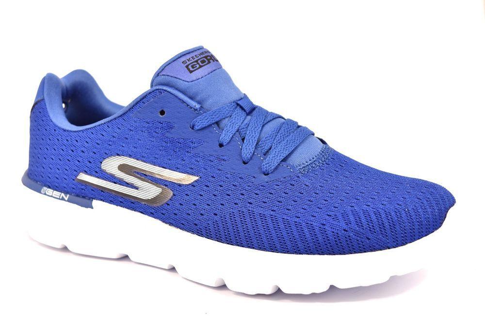 SKECHERS 54354 BLU ROYAL GO RUN 400 GENERATE RUNNING Uomo Ragazzo Sneakers  5 Gen