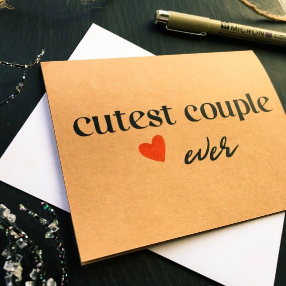 Congratulations Wedding Day Cards Just Married Cards Cutest