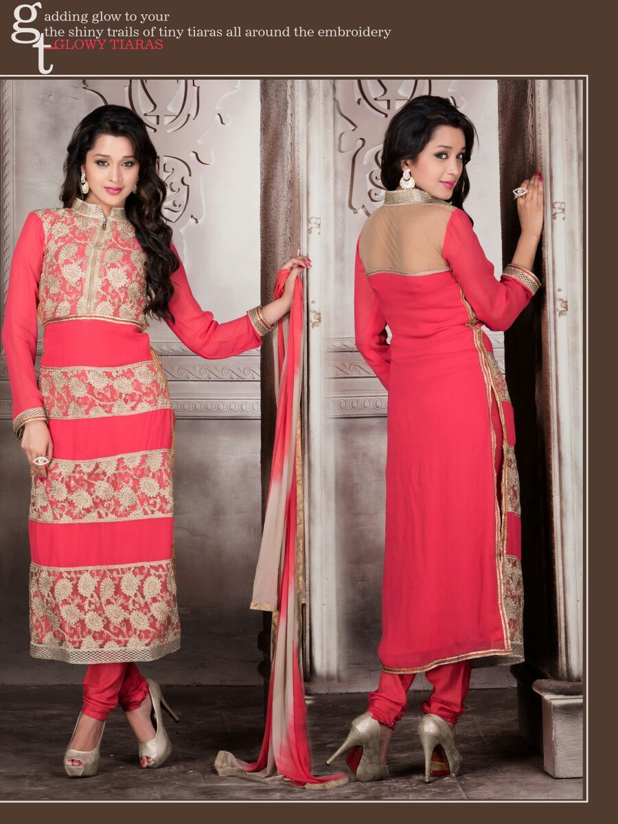 monsoon special colorful semistitched salwar kameez in wholesale rate.