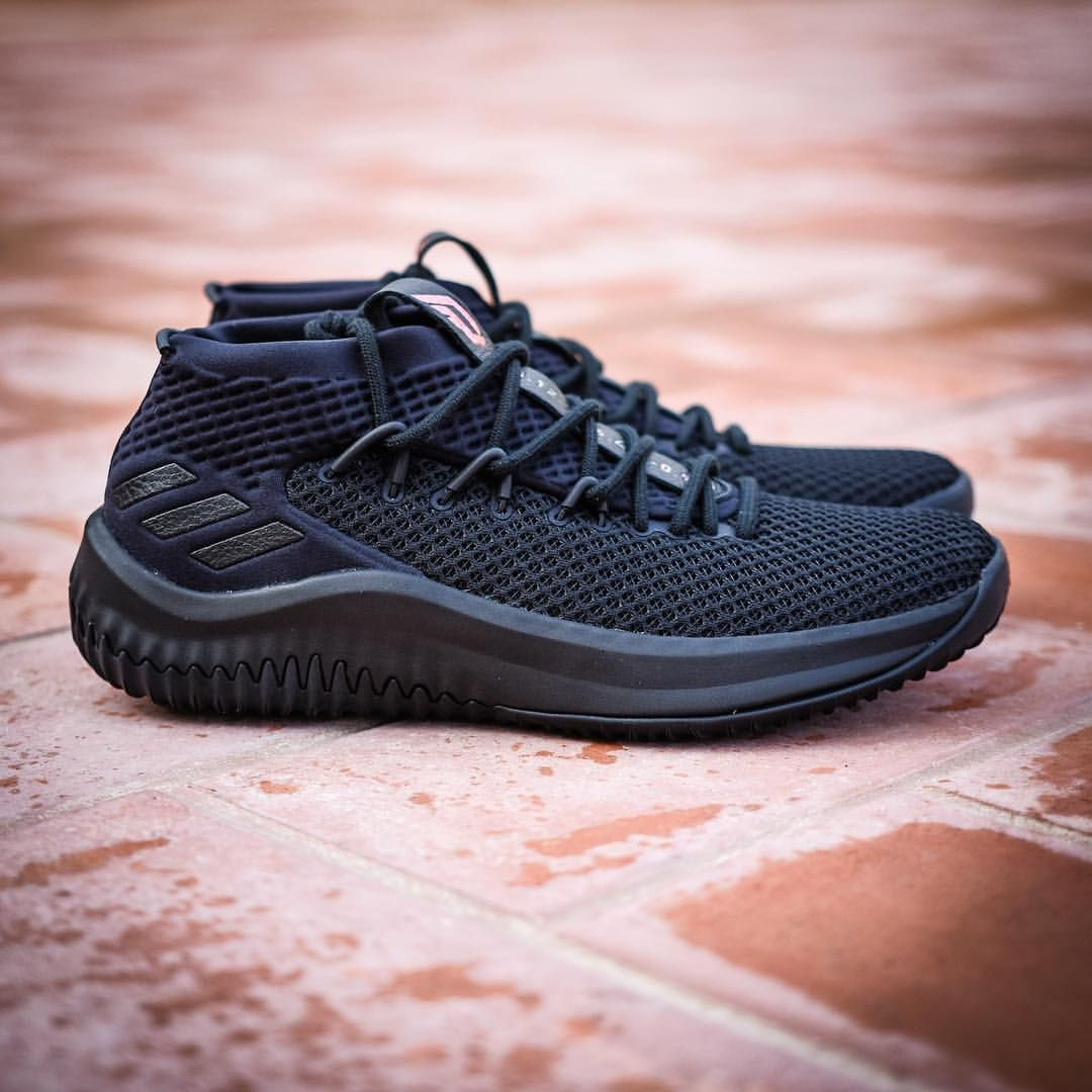 "quality design 7d2bd f0026 adidas Dame 4 ""Triple Black"""