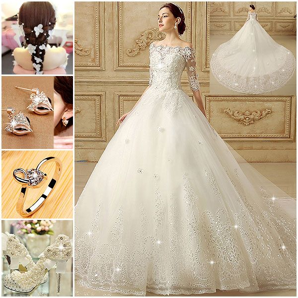 Awesome Wedding Dresses    Find More--> http://www.imaddictedtoyou.com/