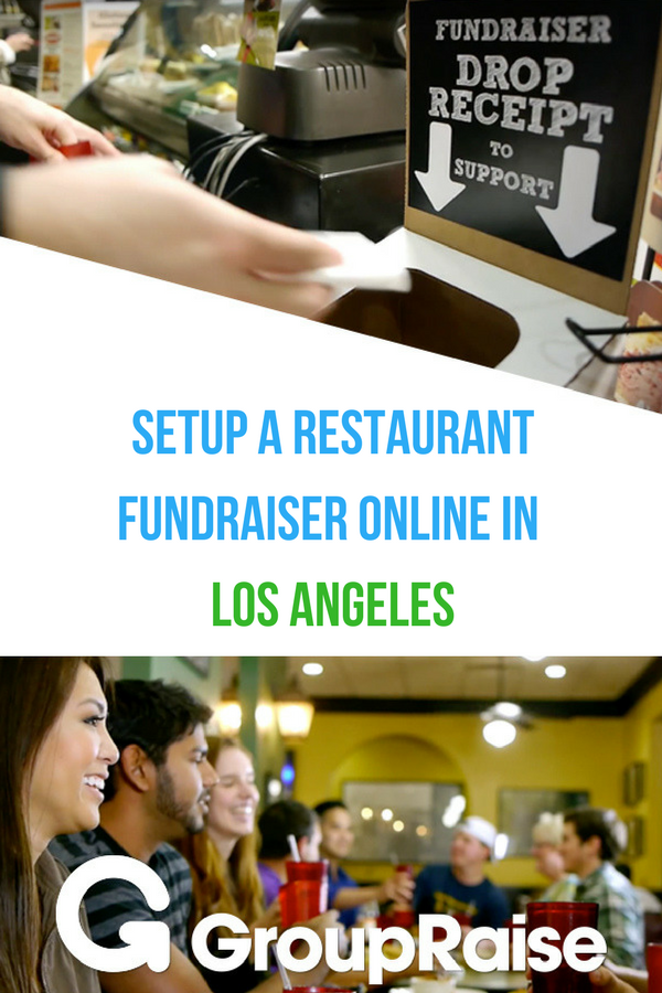 Groupraise Is The Largest Community Of Local Restaurants Who Give Back Go To Www