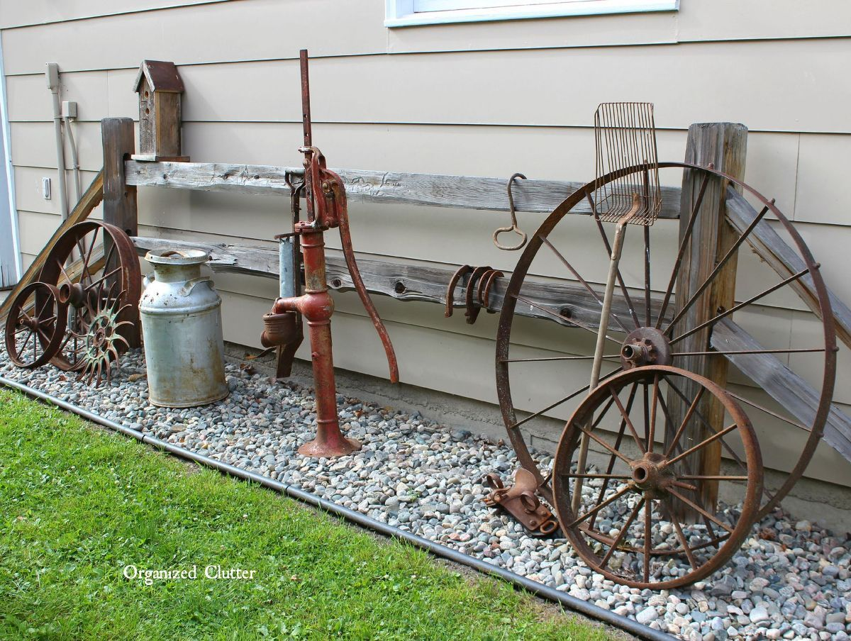 Garden decor ideas from junk gardens yards and landscaping