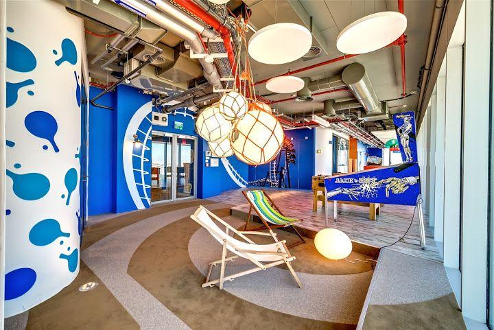 Les bureaux de google à zurich