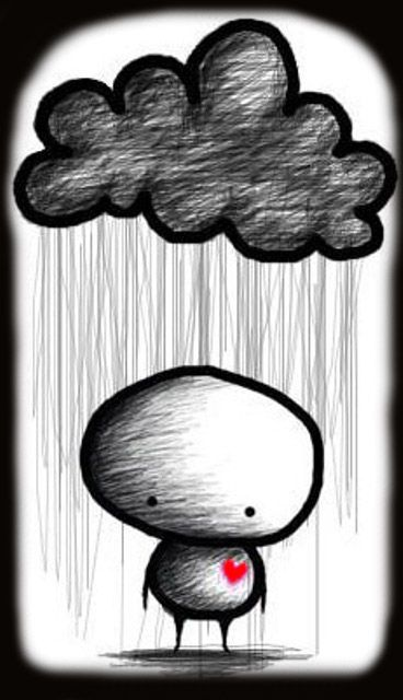 Lonely Fella Nuages Pinterest Dessin Triste Amour Et Triste
