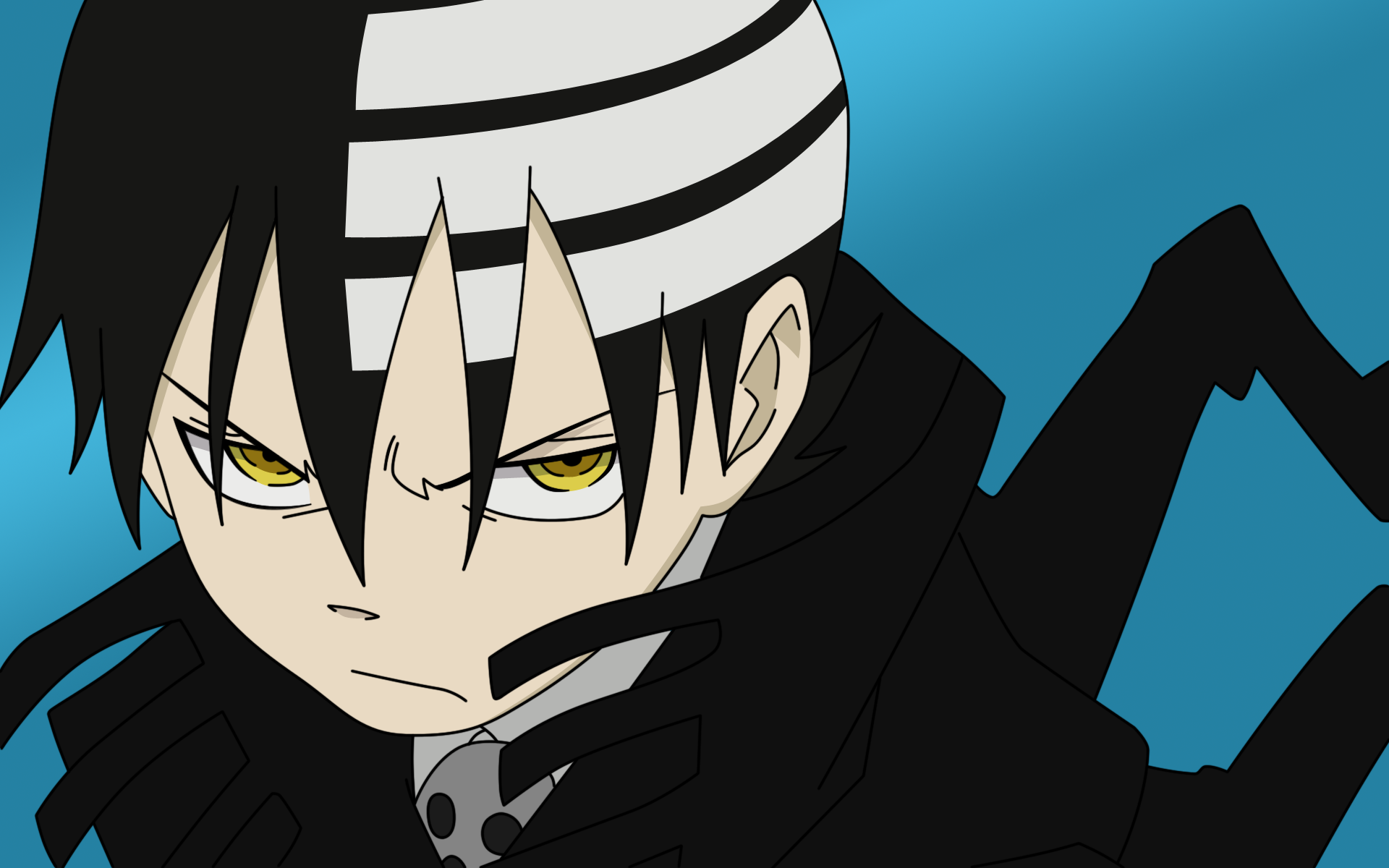 soul eater | soul_eater___death_the_kid_by_xti4n | Soul eater death, Soul  eater kid, Death the kid