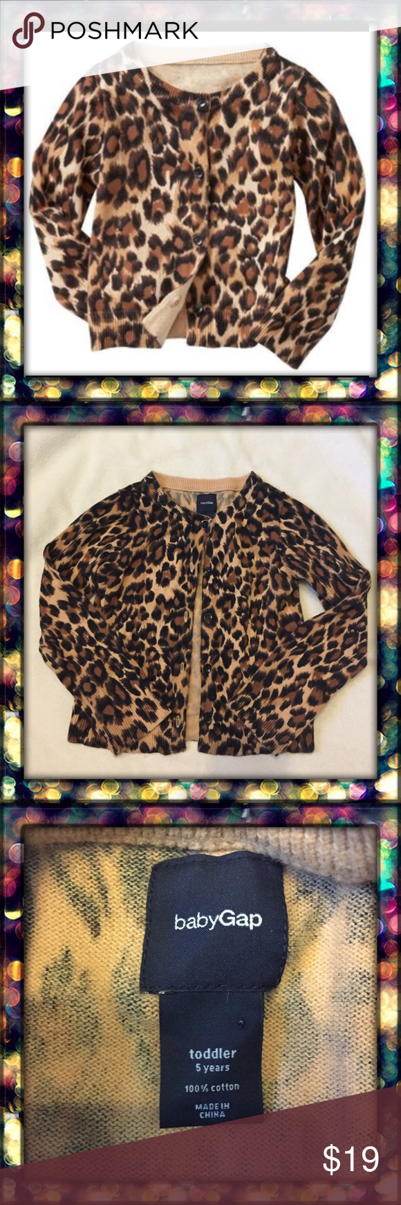 🚫SOLD🚫Gap Leopard Cardigan
