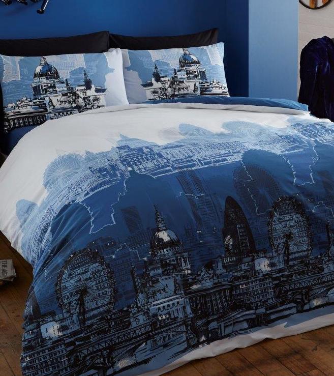 London skyline duvet set Duvet sets, Bedding sets, Bed