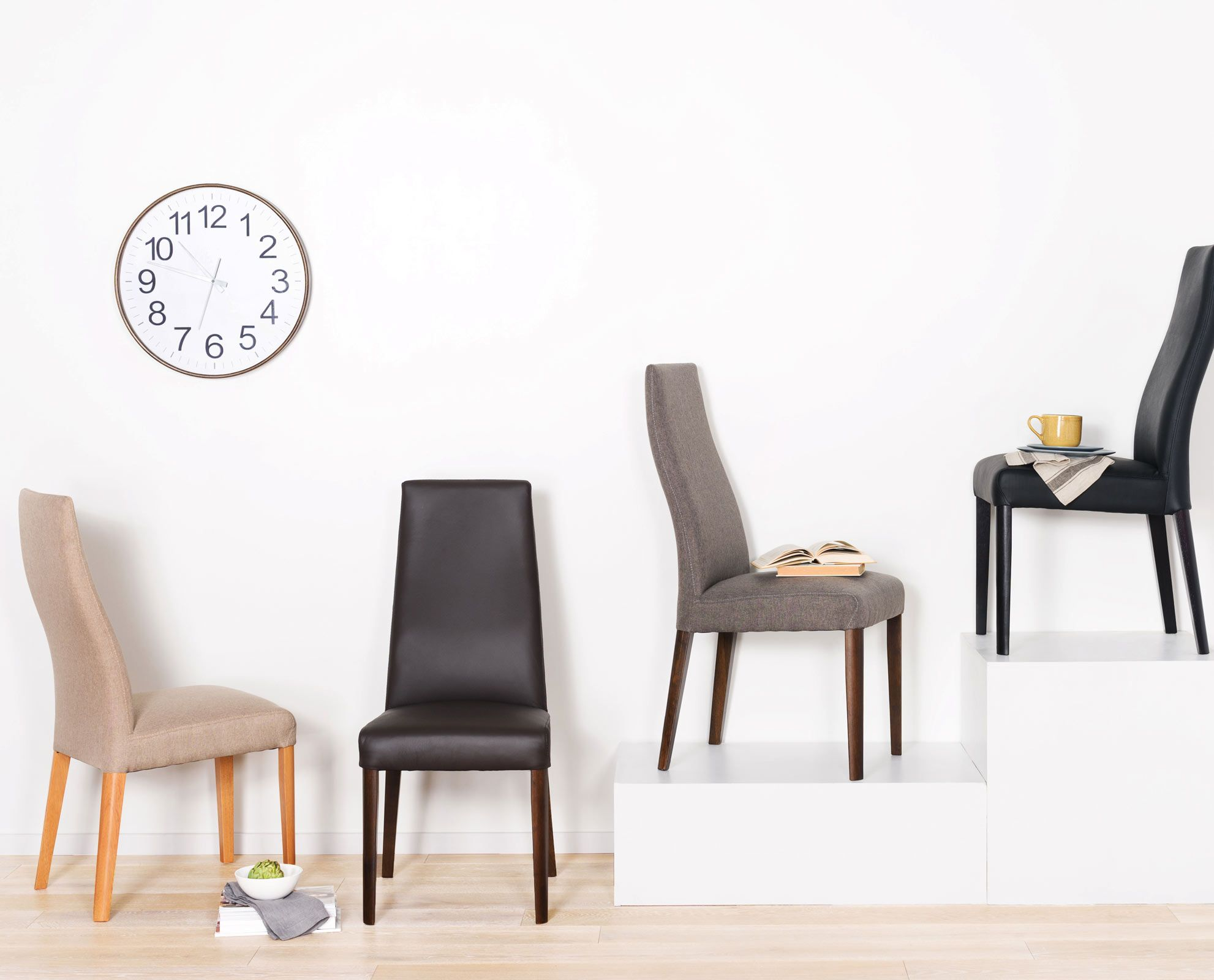 The Lussa Dining Chair From Scandinavian Designs Available In Both Fabric And Leather The Lussa Chair Dining Table Chairs Dining Chairs Fabric Dining Chairs