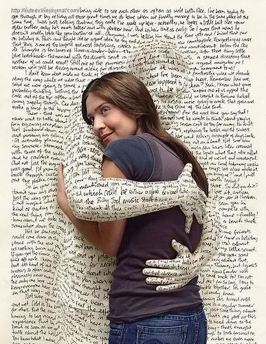 I dunno why, but this picture is how I feel about music and books. Although sometimes they can make me cry too...