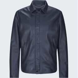 Photo of Leather jacket Monza – S.C. Collection, dark blue StrellsonStrellson