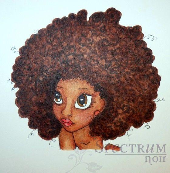 Curly Hair with #spectrumnoir