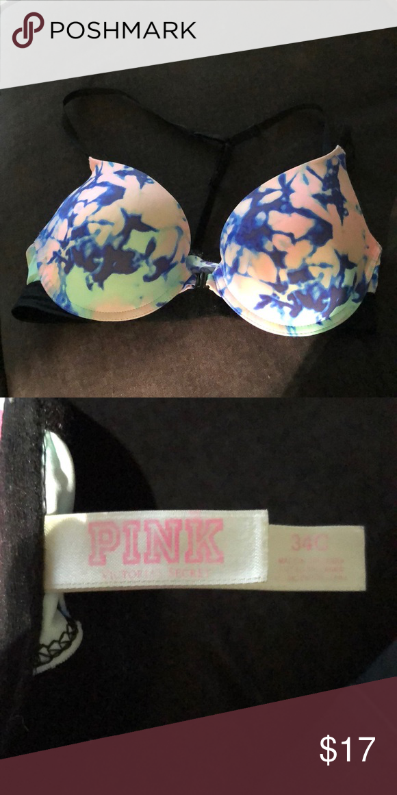 237e47ce16f2b Pink Victoria Secret Bra- 34C Tie Dye Pink Victoria Secret Bra- 34C