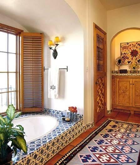 Pin By Hamid Karimy On Banheiros Spanish Style Bathrooms Spanish Decor Home