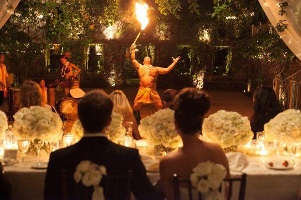 Lush Intimate Hawaiian Destination Wedding