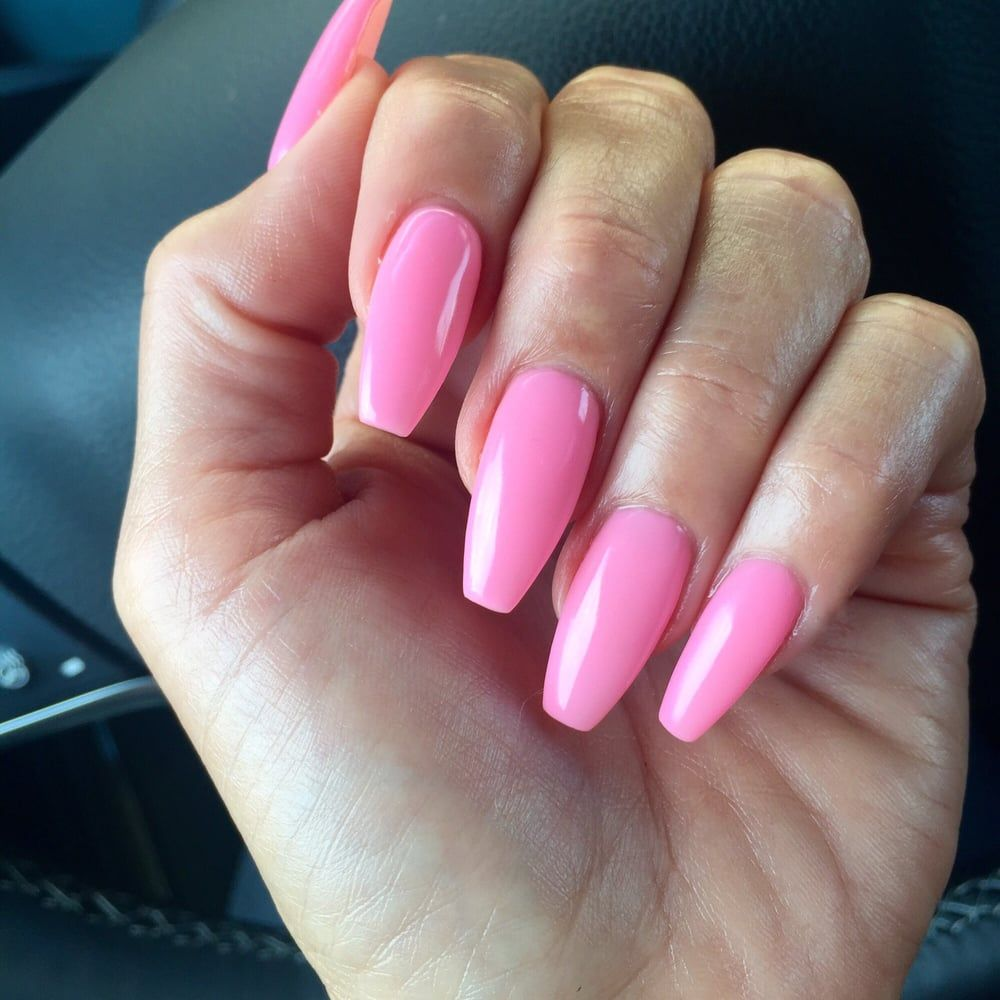 DND 497 Baby Pink Pink nail polish, Baby pink nails