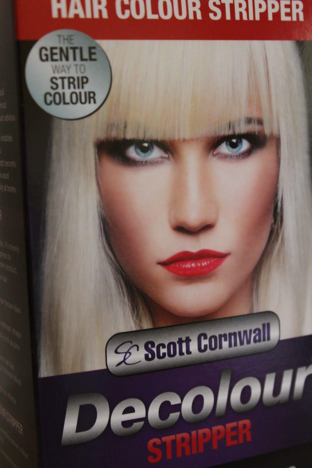 Scott Cornwall Decolour Hair Colour Stripper Beauty Lighten Hair