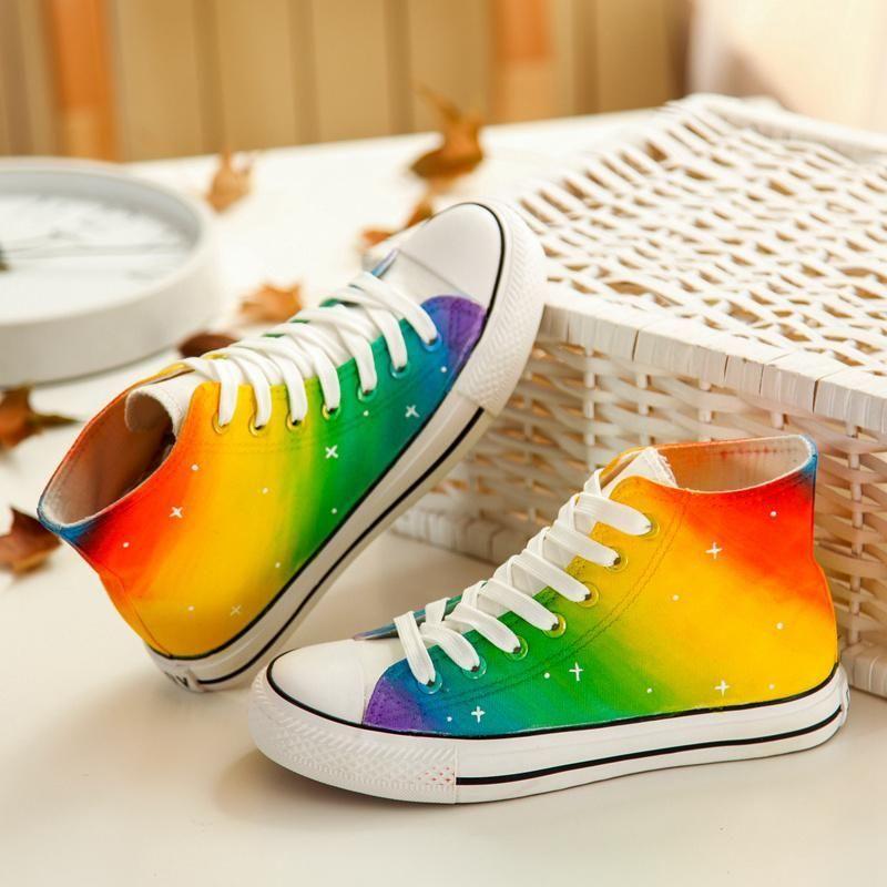 Harajuku Star Rainbow Shoes SE20259