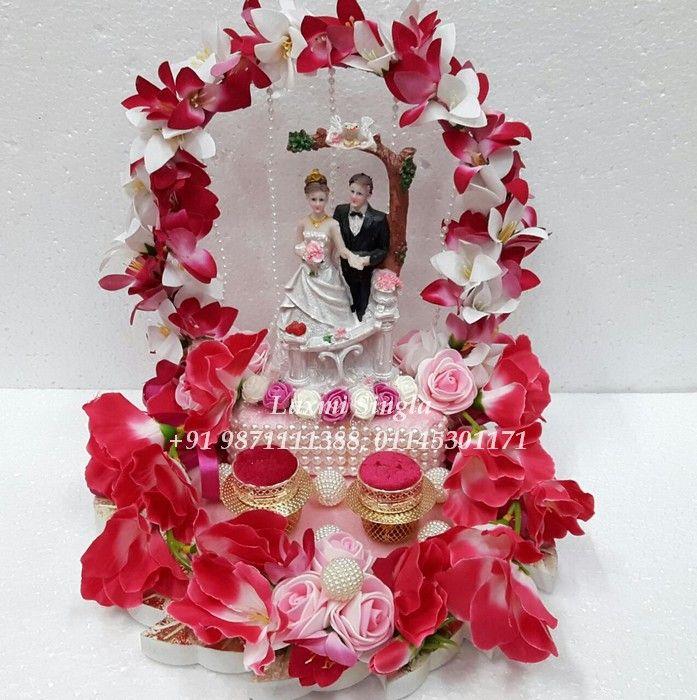 Pin By Vandana On Designer Wedding Ring Ceremony Trays Ring Holder Wedding Wedding Ceremony Rings Engagement Ring Platter