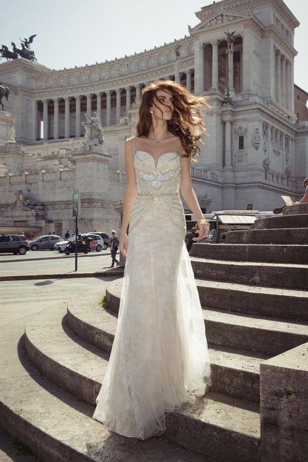 Ivory wedding dress by Julie Vino wedding dresses 2017 | I take you #weddingdress #weddinggown