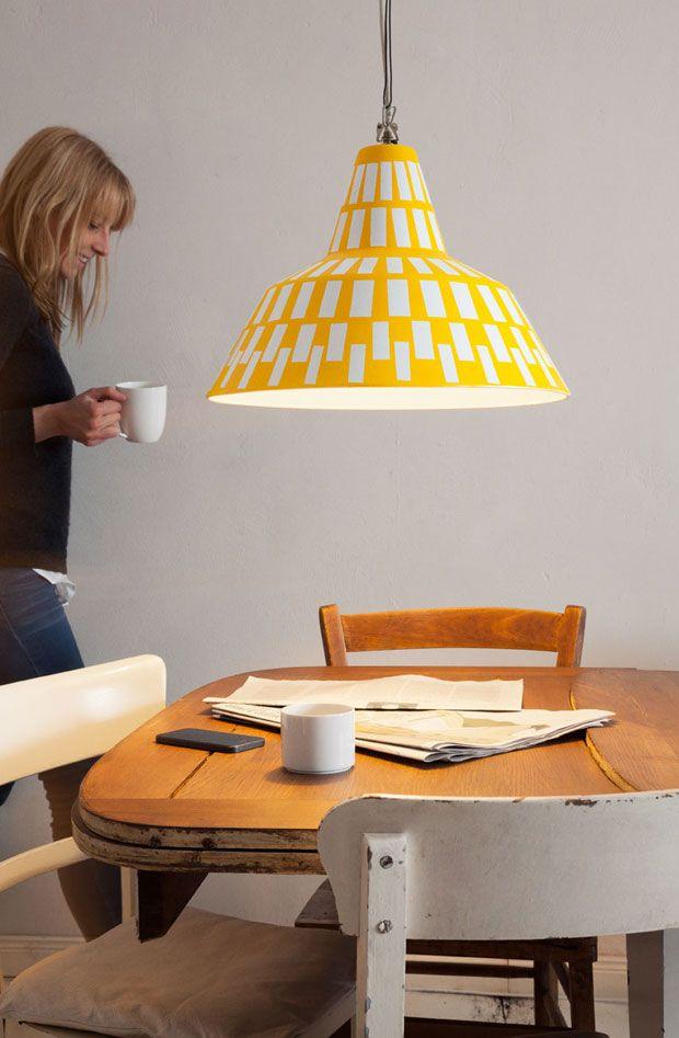 Anleitung: Lampe lackieren - so geht\'s | Aufhängen, Lackieren und Lampen