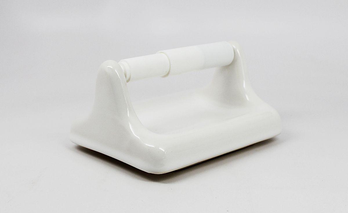 White Ceramic Toilet Paper Holder Toilet Paper Holder Paper