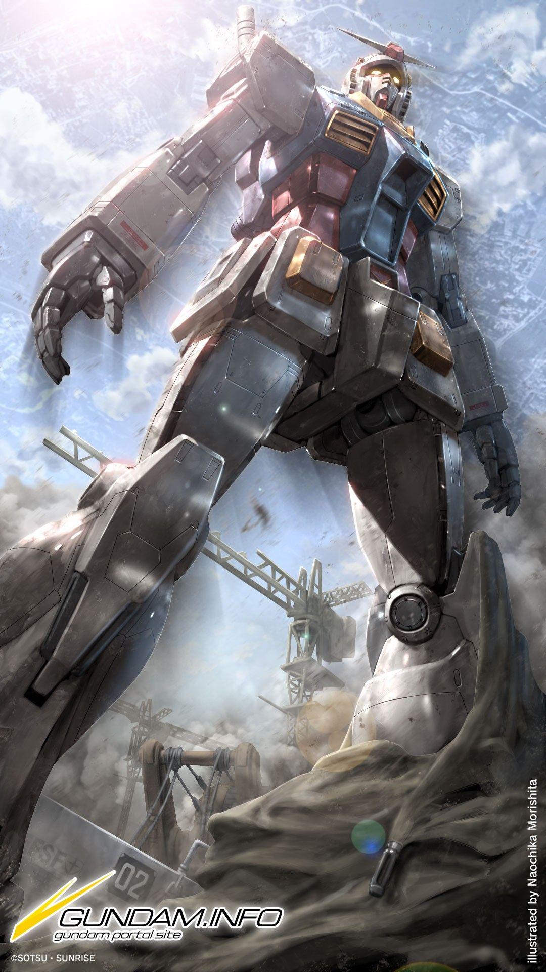 Gundam RX78 Origin Gundam.info Wallpaper Lukisan, Mobil