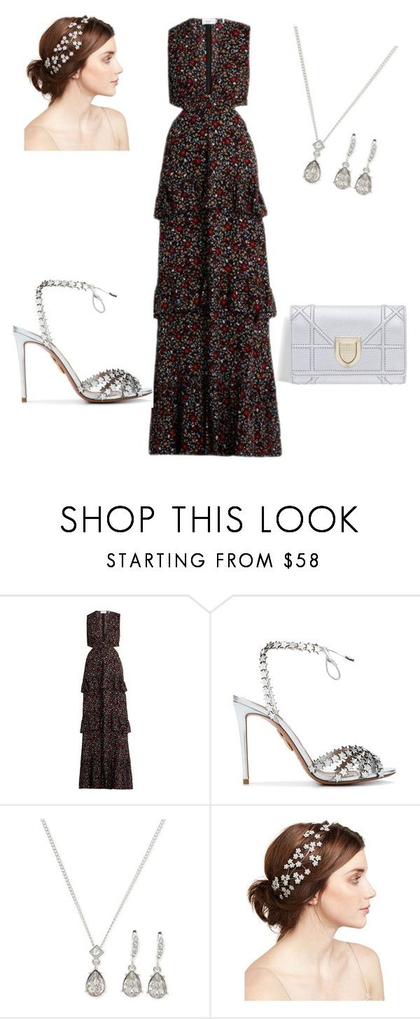 """""""Untitled #25"""" by akooch-1 ❤ liked on Polyvore featuring A.L.C., Aquazzura, Givenchy and Jennifer Behr"""