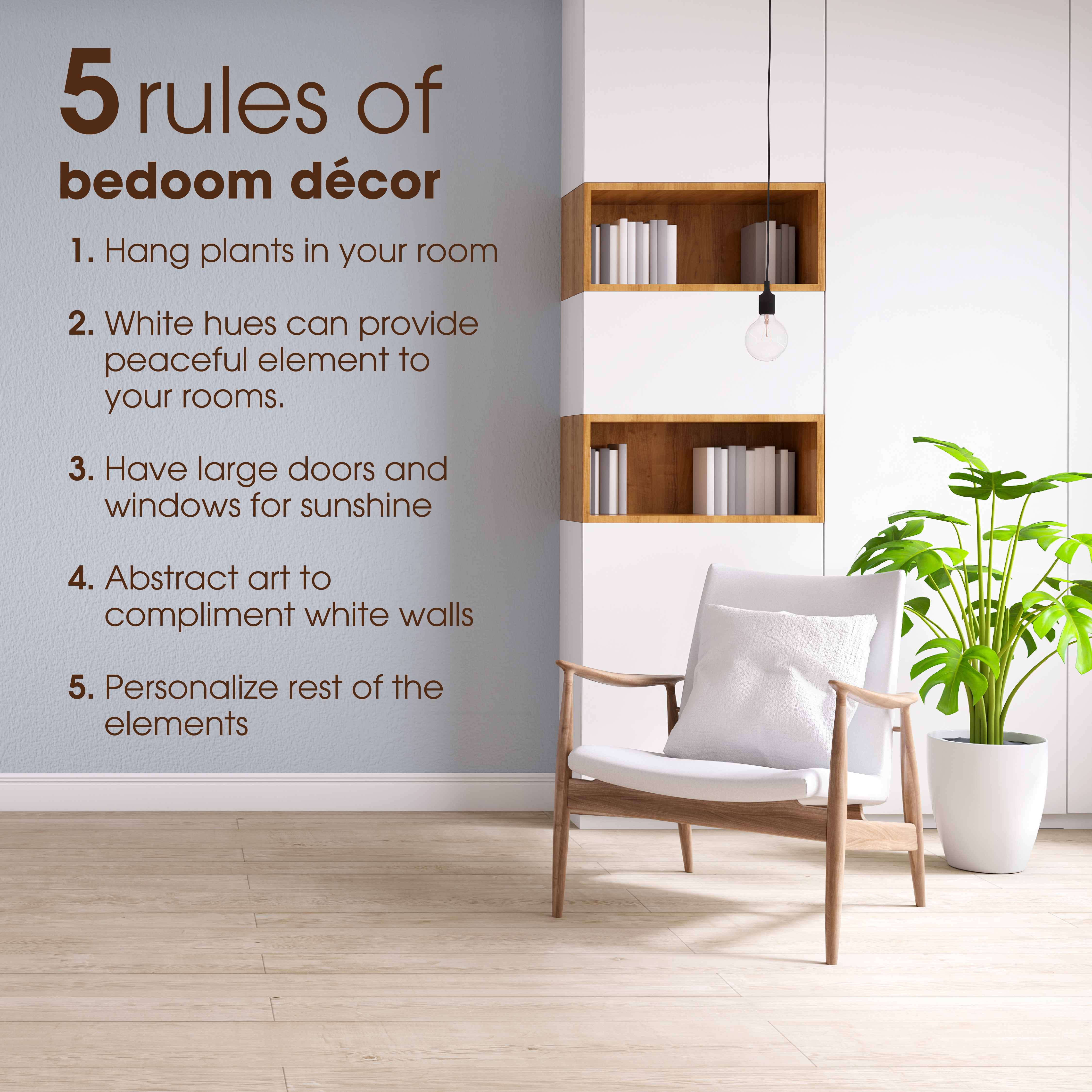 Glorify Your Bedroom With Some Amazing Tactics And Rules Mentioned Above Check Out The Link Below For A Good Collec Bedroom Decor Decor Interior Design Career