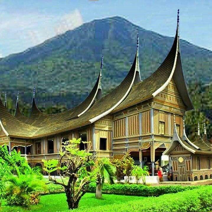 70+ Gambar Rumah Minang HD