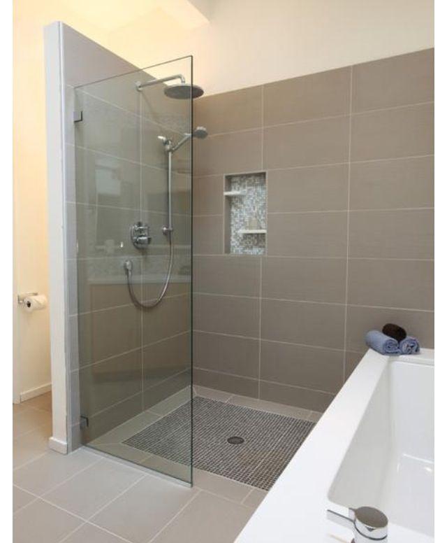 Stacked Tile Layout Bathroom Tile Ideas Modern Master