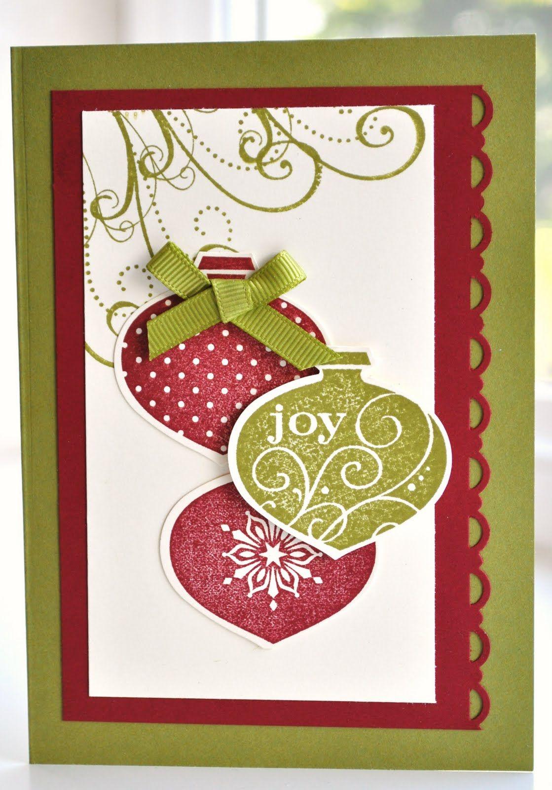 простые скрап открытки к новому году